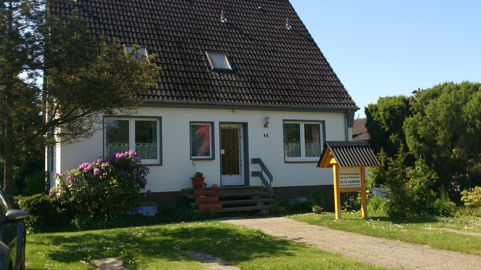 Haus Maarten Sahlenburg Außenansicht